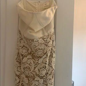 Corset White lace dress